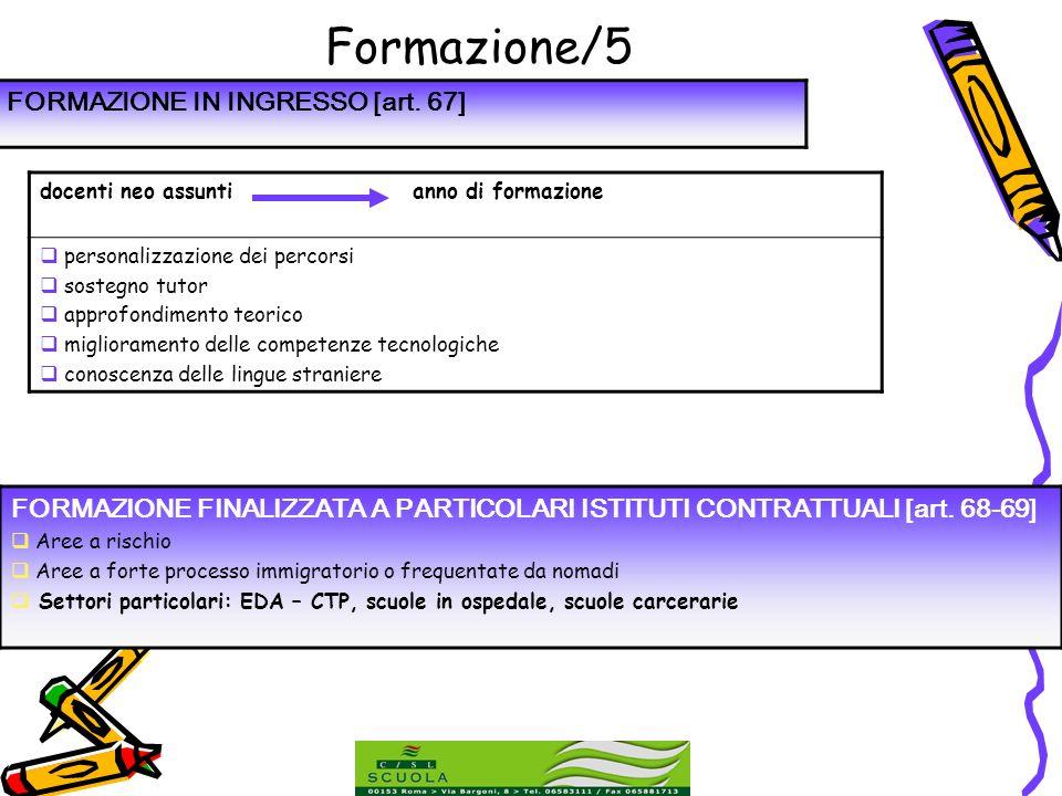 Formazione/5 FORMAZIONE IN INGRESSO [art. 67]